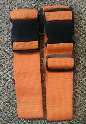 Adjustable Heavy Duty Long Cross Luggage Straps Suitcase Belt Travel Accessories