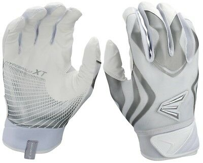 1 Pair Easton Prowess Womens Fastpitch Batting Gloves Large White / White