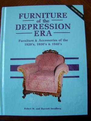 1992 FURNITURE OF THE DEPRESSION ERA HB Book, 1920s-1940s, By Swedberg