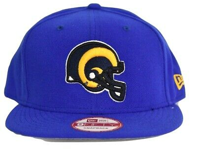NEW ERA NFL Los Angeles Rams 9FIFTY Snapback Hat 2tone Color ... 73de56cf6