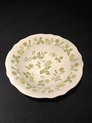 "Vintage Sears Petite Flora Ironstone #4009  9.5"" Serving Bowl"