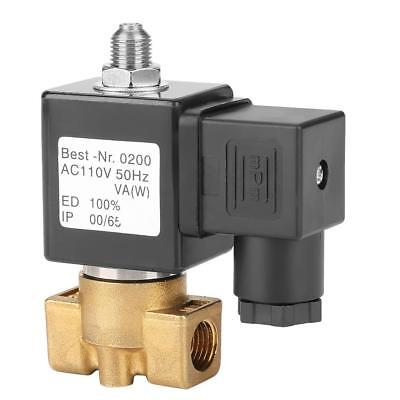 """3 Way G1/4"""" Direct Acting Normally Closed Solenoid Valve Electric Magnetic Valve"""