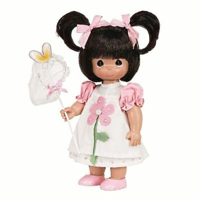 """Precious Moments Butterfly Kisses Brunette 12"""" Doll #4590"""