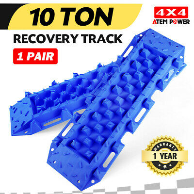New Recovery Tracks Sand Track 2pc 10T Sand/Snow/Mud Trax Blue 4WD ATV Offroad