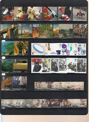 Gb 2005 Any Set Issued Unmounted Mint/mnh Below Face Value Price Varies By Set