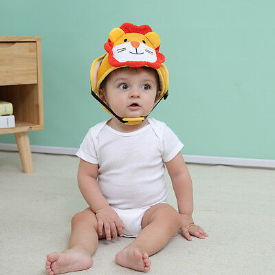 Kids Helmet Head Safety Protection Toddler Adjustable Soft Cut Cap Protector CB