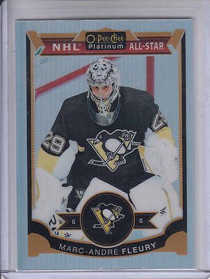15/16 OPC Platinum Marc-Andre Fleury NHL All-Star Rainbow card #114