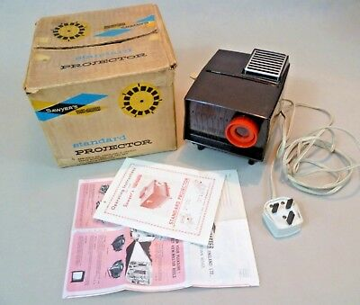 Vintage Viewmaster - Boxed Sawyer's 240V 30W Standard Projector - Belgium #2