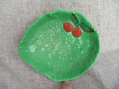 Lovely Carltonware Lettuce & Tomato Dish  Rgd.no. 721179  C.1927 Great Condition