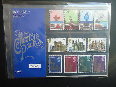 Great Britain Commemoritives Collectors Pack 1978 MNH CAT £10 (71006/2)