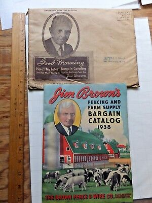 1938 Farm Supply Catalog - Fences, Feeders, Roofing, Stoves, Paint,Even Bicycles