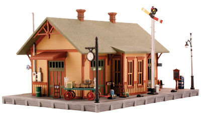 Woodland Scenics PF5207 N Scale Woodland Station Building Kit