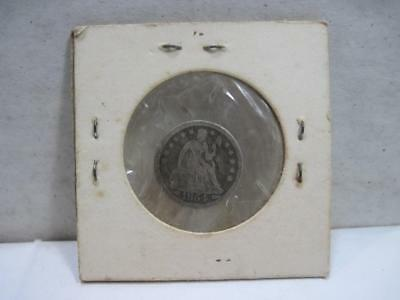 1854 Seated Liberty Dime Arrows at Date 10c Silver Dime F-VF