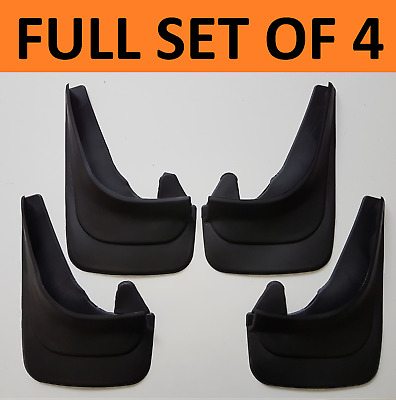 Rubber Moulded Universal Fit Car MUDFLAPS Mud Flaps Fits VW Caddy Volkswagen