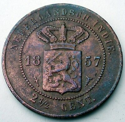Netherlands East Indies 2-1/2 Cent 1857 H9.1