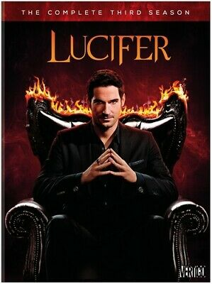Lucifer: The Complete Third and Final Season [New DVD] Boxed Set, Amaray Case
