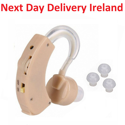 Mini Digital Hearing Aid In Ear Adjustable Tone Enhancer Sound Amplifier CE