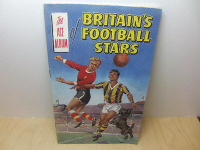 Ace Album of Britain's Football Stars given with Rover comic 1963