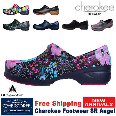 Cherokee Women's Nursing Shoe New Srangel Workwear Closed Back Plastic Clog