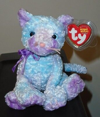 Ty Beanie Baby ~ JAZ the Cat ~ MINT with MINT TAGS ~ RETIRED
