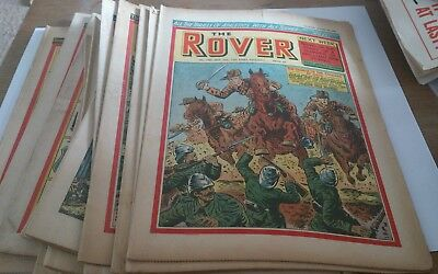 17 Rover Comics, 1954-71, Dc Thomson
