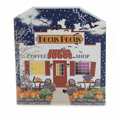 Cats Meow Village HOCUS POCUS COFFEE SHOP Wood Halloween 18631