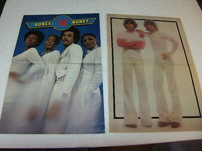 Monty gum Pop Posters 1978 Paul McCartney Boney M Baron Alessi Brothers