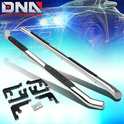 For 2016 2018 Honda Pilot Stainless Steel 3 Od Nerf Bar Side Step Running