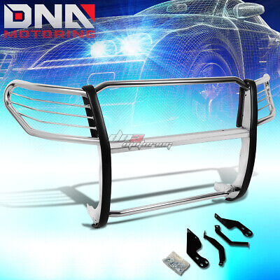 For 08-12 Nissan Pathfinder R51 Chrome Stainless Steel Front Grill Guard Frame