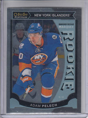 15/16 OPC Platinum New York Islanders Adam Pelech Rookie RC card #M47