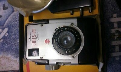 Vintage Kodak Brownie Camera BULLS-EYE with Flash in Box Bullseye