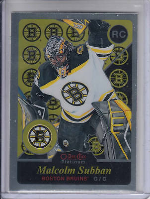15/16 OPC Platinum Boston Bruins Malcolm Subban Retro RC card #R71