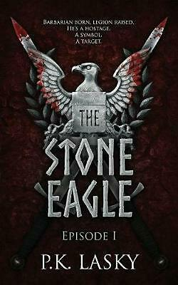 The Stone Eagle: Episode I by P.K. Lasky Paperback Book Free Shipping!