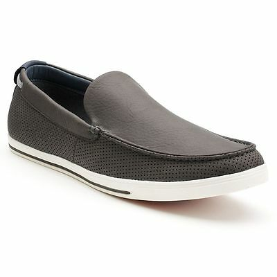 73276e562 New Mens Sonoma life + style Quentin Grey Perforated Casual Slip-On Loafers  $70