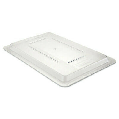 Rubbermaid 18 in. x 12 in. Food/Tote Box Lid (Clear) 3310CLE New