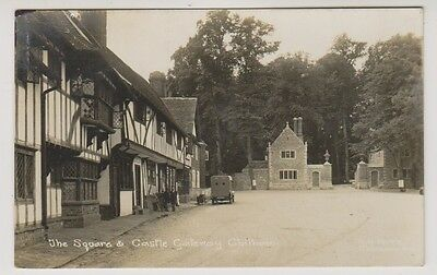 Kent postcard - The Square and Castle Gateway, Chilham - (A61)