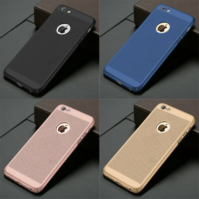 Luxury Ultra-thin Shockproof Armor Back Case Cover for Apple iPhone X 8 7 6 5 S
