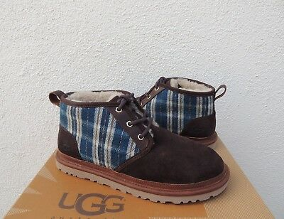 c25c9030150 UGG PENDLETON NEUMEL Holiday Plaid/ Sheepwool Ankle Boots, Us 9/ Eur 42 ~New