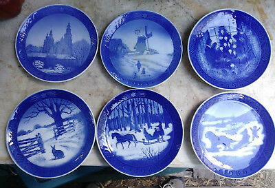 Lot Of 34 Royal copenhagen Plates 1922 -1985