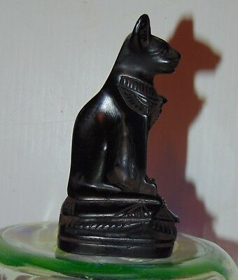 RARE  ANCIENT EGYPTIAN Statue of Cat SPHINX Goddess Bast Bastet