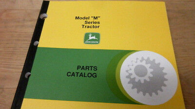 John Deere Model M Series Tractor Parts Catalog Manual Pc-848 New