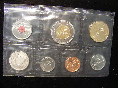 Canada 2004 Test Token Set, 6 Test Tokens Plus pink ribbon coin, Mintage was 10K
