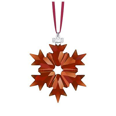 Swarovski 2018 Annual Edition Christmas Ornament Red Crystal #5460487 Bnib F/sh