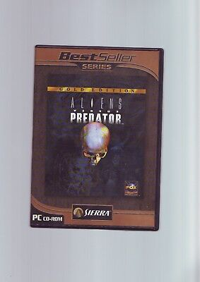 Aliens Versus Predator Gold Edition - Avp 1 Vs Pc Game + Millennium Complete Vgc