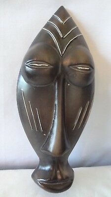 Brush Mccoy Rare 1958 African Man Tiki Mask Wall Plaque K137