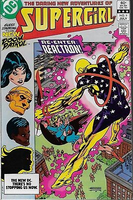 The Daring New Adventures of Supergirl No.9 / 1983 The New Doom Patrol