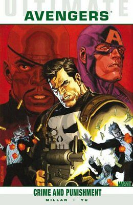 Ultimate Comics: Avengers 2 Crime and Punishment by Mark  Millar Paperback Book
