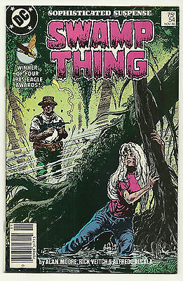 Swamp Thing 1986 #54 Very Fine Alan Moore