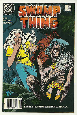 Swamp Thing 1987 #59 Very Fine Alan Moore