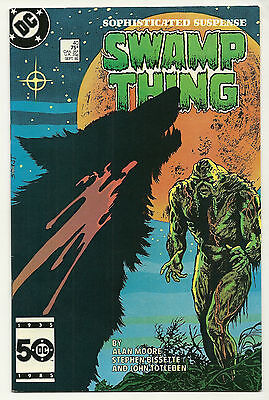 Swamp Thing 1985 #40 Very Fine Alan Moore